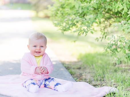 Addie's Baby Portraits