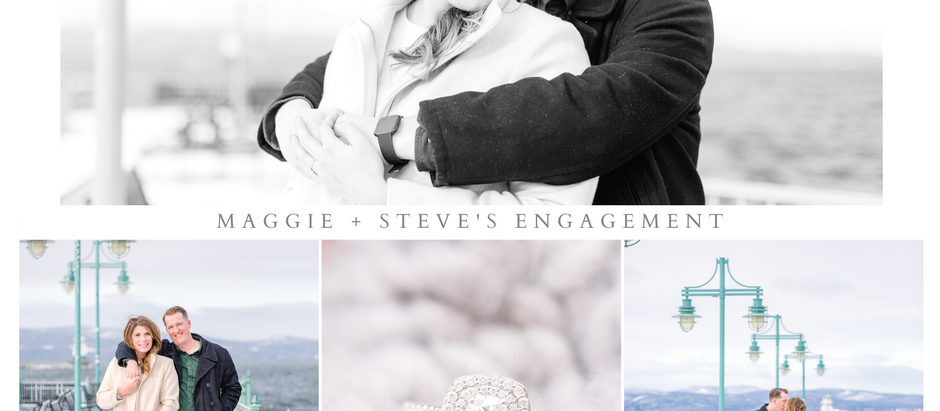 Maggie + Steve's Burlington Engagement