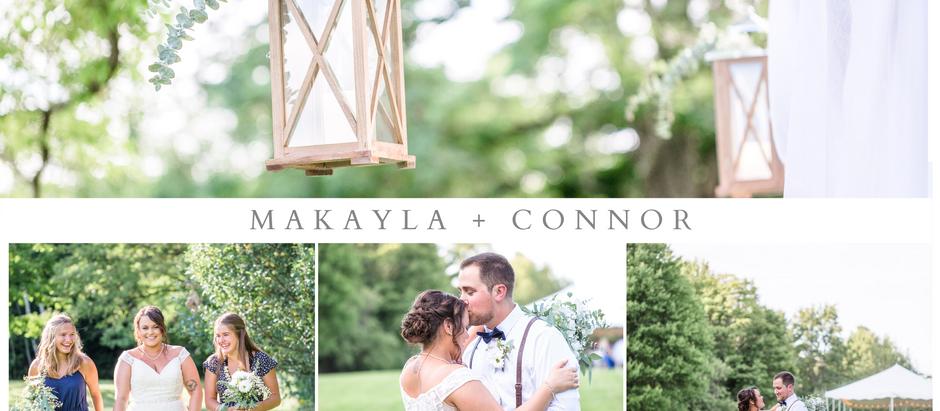 Makayla + Connor's Vermont Backyard Wedding