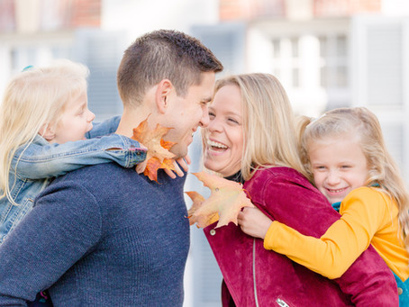 Fall Family Photos in Middlebury