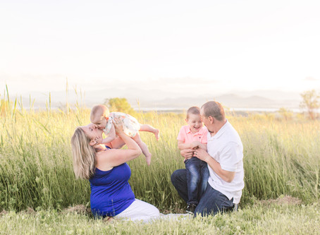 Heather and Family's Sun-Soaked Session