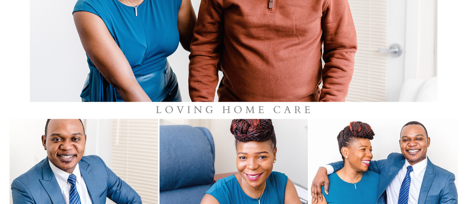 Office Branding Shots with Loving Home Care