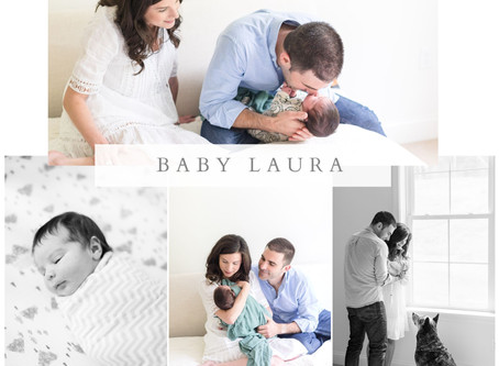 Baby Laura's Newborn Session