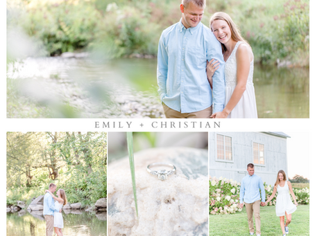 Emily and Christian's Country Engagement Session