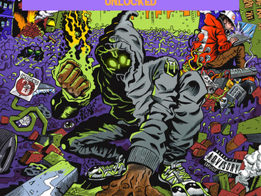 Denzel Curry & Kenny Beats-UNLOCKED/UNLOCKED 1.5 REVIEW