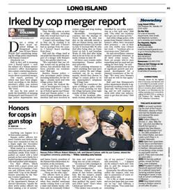 Honors for Cops in Gun Stop