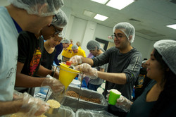 Bahamas Relief Food Packaging Event