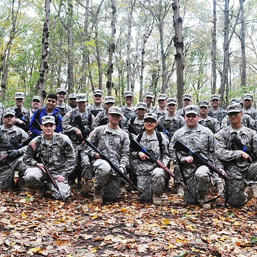US Army ROTC Training