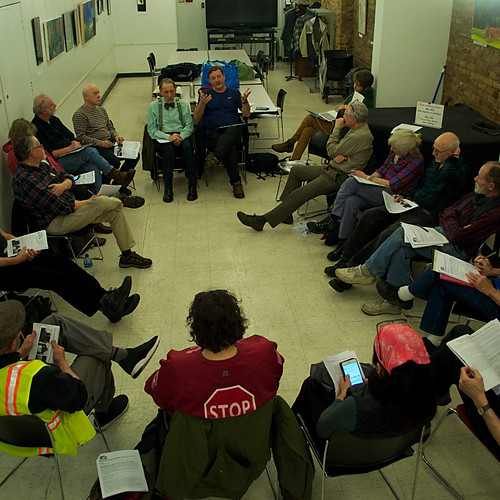 Veterans for Peace, Chapter 34 Meeting