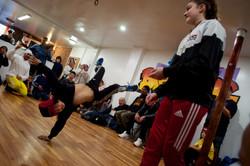 Kids Breaking League Dance Battles
