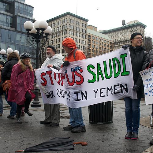 Yemen War Protest