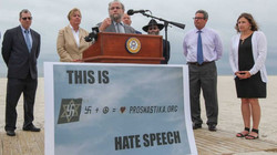 Calling for Ban on Swastika Displays