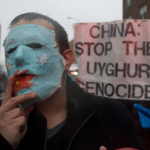 March Supporting Uyghurs