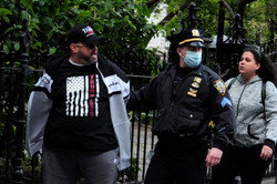 'Reopen NY' protesters busted outside New York City Hall