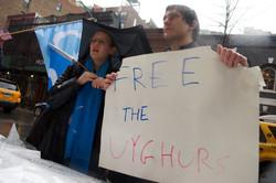Rally for Uyghurs, Tibet, Hong Kong