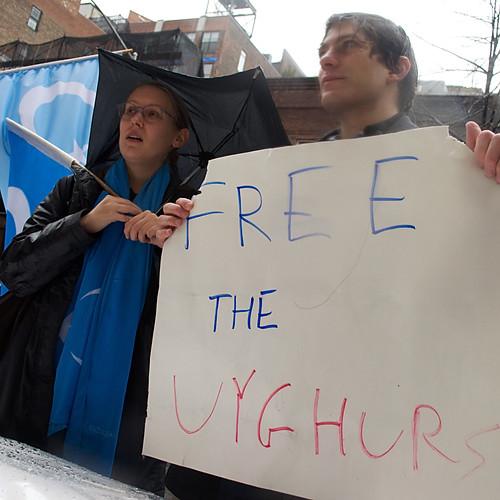 Rally for Uyghurs, Tibet, HK