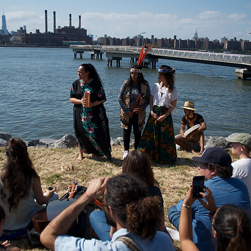 Brooklyn Ceremony Honoring Bodies of Water