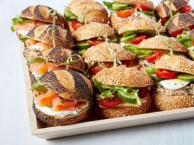 Breads Bakery Catering | Mini Sandwich Platter