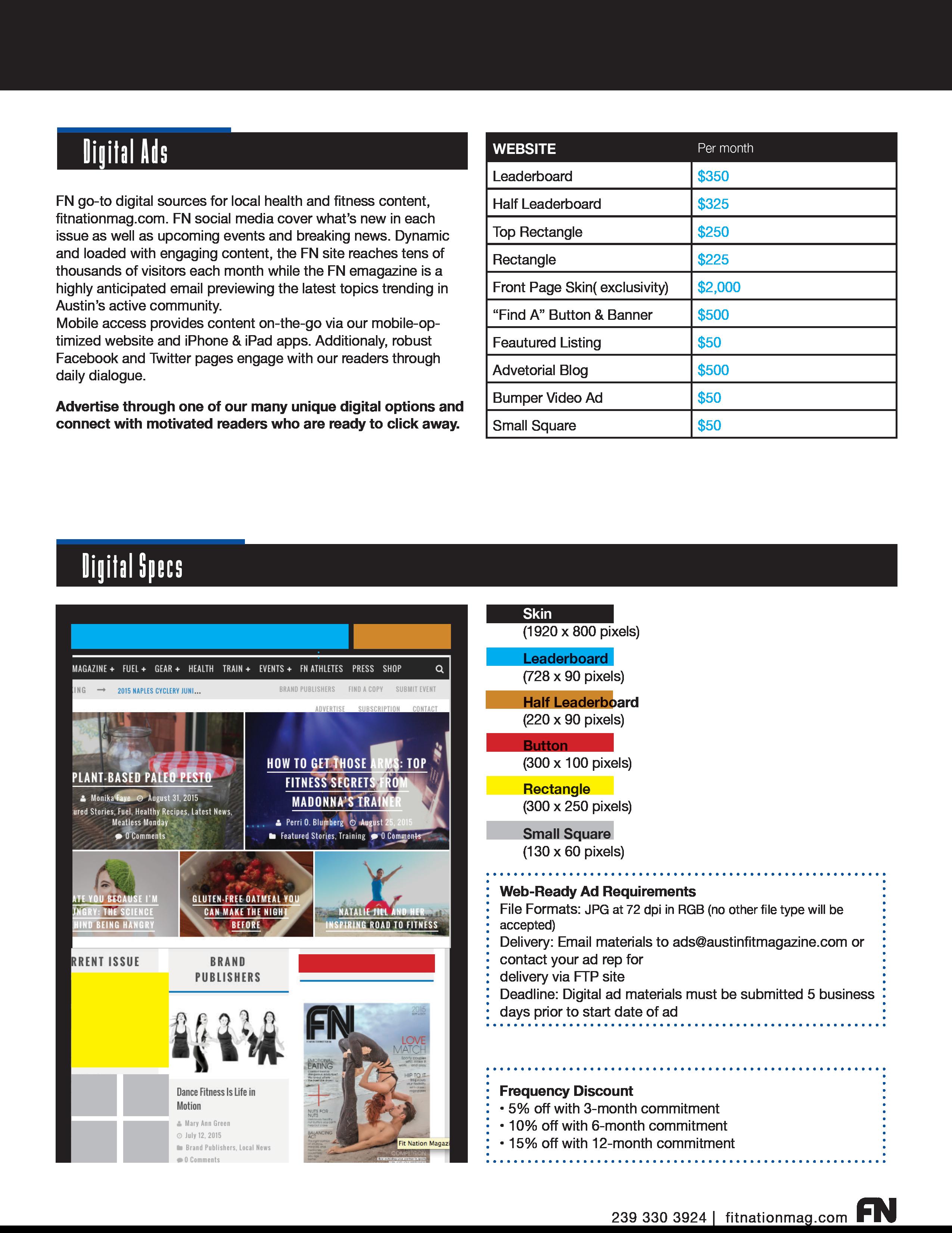 Media Kit infographic
