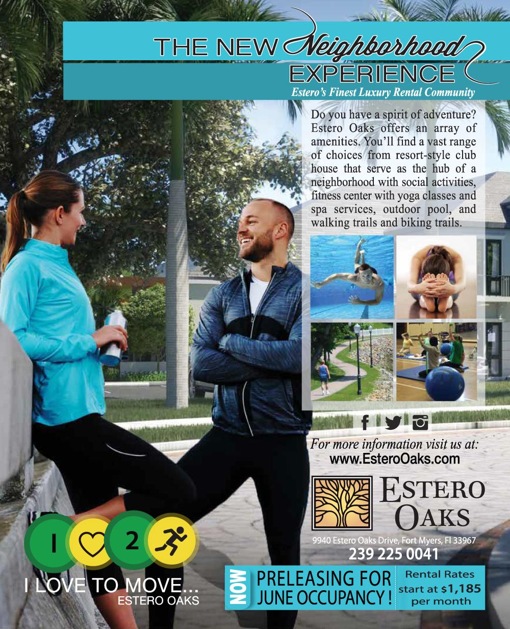 Estero Oak Community Ad