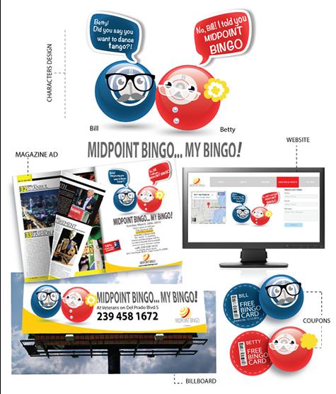 Midpoint Bingo Campaign
