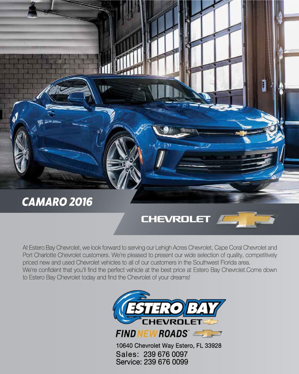 Estero Bay Chevy Ad