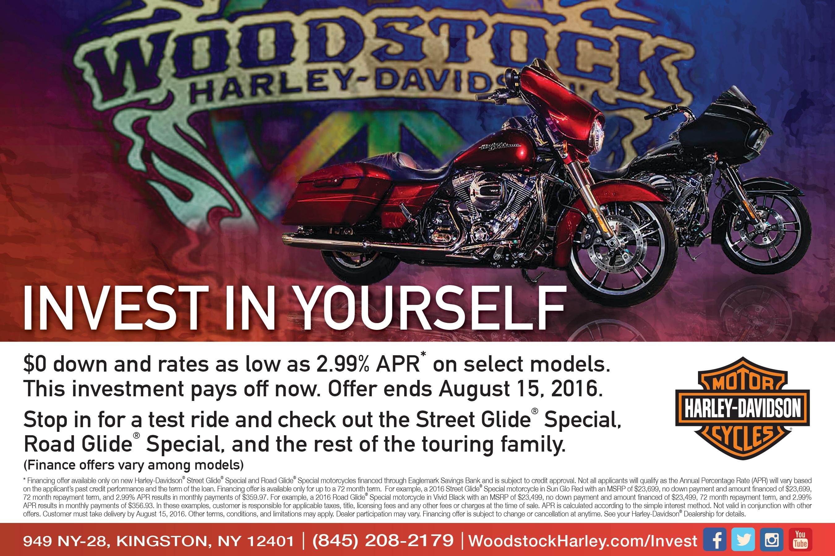 Woodstock Harley Ad