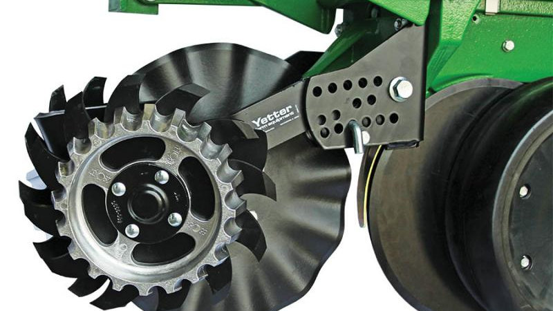 2967-042A FLOATING ROW CLEANER - JOHN DEERE COULTERS