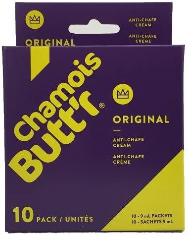 10 PACK OF 9 ML CHAMOIS BUTT'R ORIGINAL