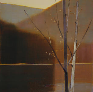 "Stephen Pentak ""VI.III"", 2016 Oil on panel 24 x 24 inches $2,800"