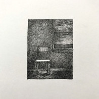 Marc Lincewicz 'Waiting In Stillness', 2020 Pen & Ink 2 x 2.5 P.O.R.