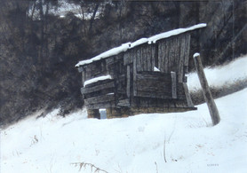 Willard Reader 'Hillside', 2014 Watercolor 13 1/2 x 19 1/4 inches  $500