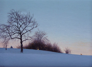 Alan Gough 'Grandview Early Light', 2009 Oil 9 x 12 inches  Sold