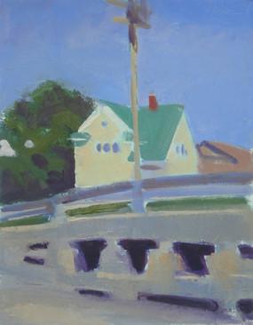 Maine, Bailey Island, Cribstone Bridge