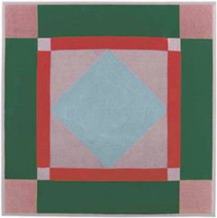 Diamond in the Square Quilt