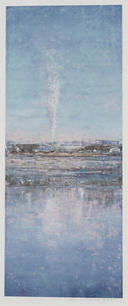 Eric Barth (Contemporary) 'Holy Smoke', 2020 Oil pastel and soft pastel on paper 8 3/8 x 3 3/8 inches   $1,000
