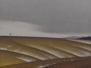 Alan Gough 'High on a Hill', 2016 Oil 9 x 12 inches  $1,000