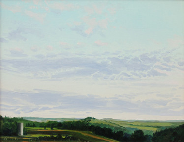 Landscape with Silo