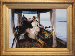 Drifting on the Lagoon, Venice (Drifting with the tide)
