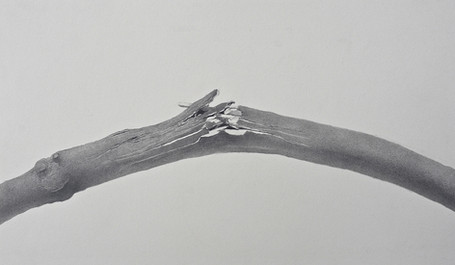 Lowell Tolstedt 'Breaking Point', 1980 Graphite 8 x 13 1/2 inches $2,000