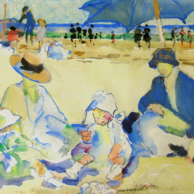 The Blue Umbrella, Gloucester