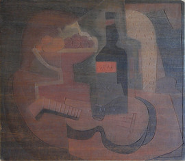Composition No.2 Grace Martin Taylor Woodblock/ Side 1 Block cut 1935 11 7/8 x 13 3/4 inches  On Side 2 of this Woodblock: Old White Art Colony  $3,500
