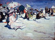 At the Beach, c. 1915-1920