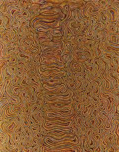 """Elsie Sanchez  """"Presence"""", 2020 Oil on canvas 56 x 44 inches $4,700"""