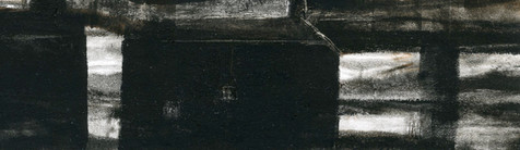 Alice Carpenter 'Landscape 16.5', 2017 Monotype on paper 2 1/4 x 7 1/2 inches  $600