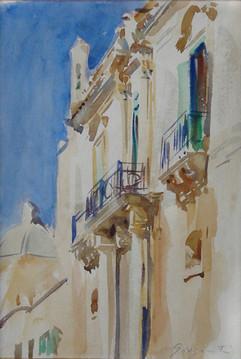 Facade of a Palazzo, Girgenti, Sicily
