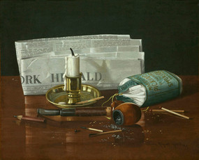 New York Herald (Still Life)