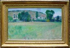 Farm Scene, Giverny