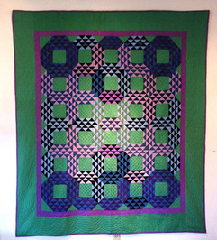 Baskets, Holmes County, Ohio Amish c. 1920s Pieced cotton quilt 82 x 70 inches Acquired by The Columbus Museum of Art
