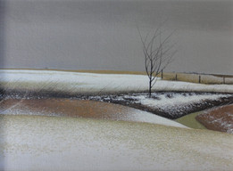 Alan Gough 'Tarlton Terrain', 2020 Oil on panel 9 x 12 inches  $1,000